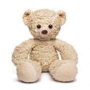 "Bears for Humanity Sherpa Bear, Light Brown, 16"""