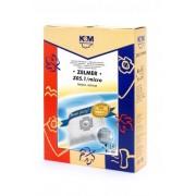 Sac aspirator Zelmer 1010, sintetic, 4X saci + 1 filtru, KM