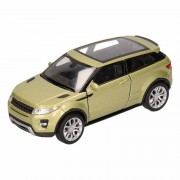 Speelgoed groene Land/Range Rover Evoque auto 1:36 - Action products