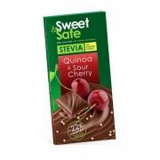 Sly, Sweet & Safe - Ciocolata Lapte,Quinoa,Cirese, 25g