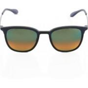 Ray-Ban Retro Square Sunglasses(Silver)
