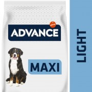 14kg Advance Maxi Light pienso para perros
