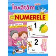 Invatam prin joc numerele +3ani. Carti de joc educative