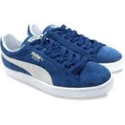 Puma Suede Classic+ Sneakers For Men(Blue)