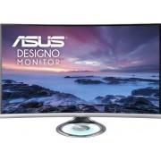 """Monitor VA LED ASUS 31.5"""" MX32VQ, WQHD (2560 x 1440), HDMI, DisplayPort, Boxe, Ecran curbat, 4 ms (Gri)"""