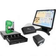 "Kit TPV Tactil 15"" W10 + Software Itactil + Cajon + Impresora Tickets - Inside-Pc"