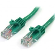 Cablu startech CAT 5E Green patch 2M (45PAT2MGN)