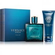 Versace Eros lote de regalo III. eau de toilette 100 ml + gel de ducha 100 ml