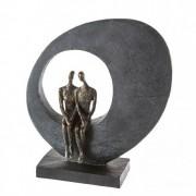 "Sculpture Side by side ""Casablanca"""