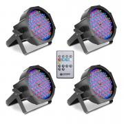 Cameo Flat PAR RGB 10 IR Set LED-Leuchte