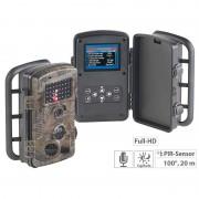 VisorTech Full-HD-Wildkamera mit Bewegungssensor, Nachtsicht, Farb-Display, IP54