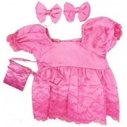 """Pink Formal Dress Fits Most 14"""" - 18"""" Build-a-bear, Vermont Teddy Bears, and Make Your Own Stuffed Animals"""
