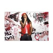 Skin Lil Wayne - Graffiti