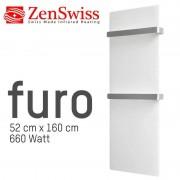 ZenSwiss furo (Farbe: Matt Weiss, Format: 52 x 160 cm)