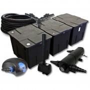 Wiltec - SunSun Kit de filtration de bassin 90000l avec 36W