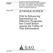 Juvenile Justice: Doj Is Enhancing Information on Effective Programs, But Could Better Assess the Utility of This Information