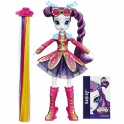 Juguetes--Muñeca My Little Pony Peinados Rockeros Hairstyling Rarity B1036-Multicolor