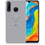 Huawei P30 Lite Uniek TPU Hoesje Baby Olifant
