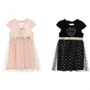 Disney Mimmi Pigg klänning (SVART, 3A - 98 CM)
