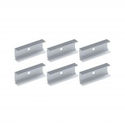 Paulmann 94193 6 clips for Plug & Shine LED strip