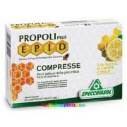 Propolisz szopogatós 20 db tabletta, Citromos-mézes ízesítéssel. Propoli Plus EPID(R) szabadalommal védett propolisz kivonattal - Specchiasol
