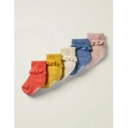 Mini Mehrfarbig Box mit Rüschensocken im 5er-Pack Baby Baby Boden, 104, Multi