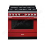 SMEG Piano de cuisson CPF9GMR