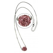 Náhrdelník LS Fashion LSN005 růžový