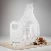 Островок уюта Детская кроватка Островок уюта Слоненок маятник поперечный с ящиком