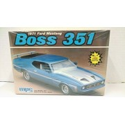 MPC 6249 1971 Ford Mustang Boss 351 1:25 Scale Plastic Model Kit - Requires Assembly