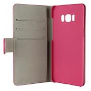 Gear plånboksfodral med kortplats rosa, Samsung Galaxy S8