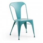 Kave Home Cadeira Malira turquesa , en Metal - Azul