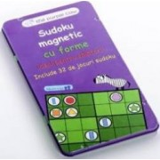 Joc magnetic- Sudoku cu forme geometrice MomKi mk568