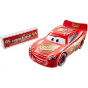 Mattel Disney Pixar Cars Movie Moments Lightning Mcqueen With Pit Stop Barrier Die-Cast Vehicle - Multi Color