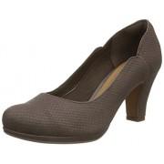 Clarks Women's Chorus Nights Snake Black Fashion Sandals - 6 UK/India (39.5 EU)