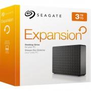 "HDD extern Seagate, 3TB, Expansion, 3.5"", USB3.0, negru"