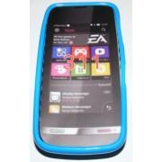 Силиконов гръб ТПУ за Nokia Asha 311 Син