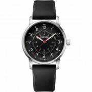 Wenger Avenue Reloj de cuarzo acero inoxidable black-silver-black