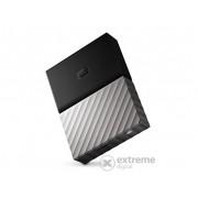 "Hard disk extern WD My Passport Ultra 2,5"" 4TB, gri-negru(WDBFKT0040BGY-WESN)"