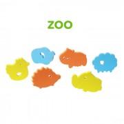 BabyOno fürdőjáték puzzle szivacs, 6 db - 534 zoo