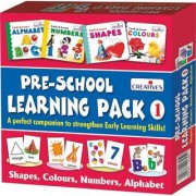 Tingoking Learning and Educational Pre-School Tingoking Learning Pack 1 (Shapes Colours Numbers and Alphabet)