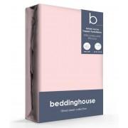 Beddinghouse Jersey-Lycra Topper Hoeslaken Lightpink-90/100 x 200/220 cm