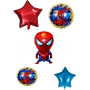 Set 5 baloane folie Spiderman