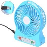OMs USB Portable Mini Fan USB Rechargeable 3 Speed Fan Perfume-Turbine Desk Fan Air Conditioner Cooling Fan