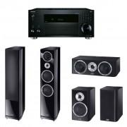 Pachet Receiver AV Onkyo TX-RZ810 + Boxe Heco Elementa 700 + Boxe Heco Elementa 300 + Boxe Heco Elementa Center 30