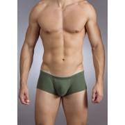 Baskit Action Cool All Mesh Sawed Off Brief Bronze Green Underwear M3300