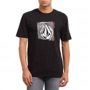 VOLCOM T-Shirt, runder Ausschnitt, kurze Ärmel, Aufdruck vorne
