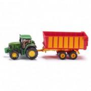SIKU john deere traktor sa prikolicom 1650
