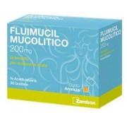 Zambon Italia Srl Fluimucil Mucol 200 Mg Granulato Per Soluzione Orale 30 Bustine