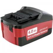 Metabo Batteria per elettroutensile Metabo 18 V Li-Power 625527000 18 V 4 Ah Li-Ion